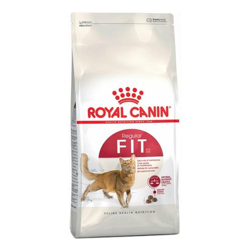 Alimento Royal Canin Feline Health Nutrition Fit 32 para gato adulto sabor mix en bolsa de 15kg