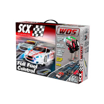 Scalextric Scx Pista Slot Wos Full Fuel Control Set (6.2m)