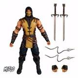 Mortal Kombat X: Scorpion - 16 Cm - Mezco - Lançamento