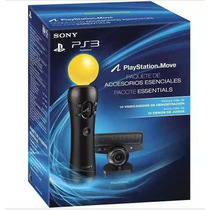 Kit Movie Essentials Para Playstation 3 + Cameras