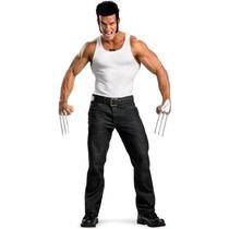 Disfraz Marvel El Kit De Adultos Traje De Wolverine Con Los