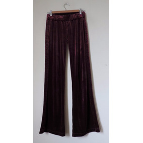 Pantalón Plush Color Burdeo Marca Baby Phat