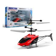 Avião Helicóptero Mini Drone Recarregável Usb Sensor De Mão