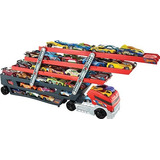 Juguete Hot Wheels Mega Transportista - Rojo