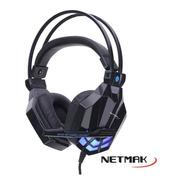 Auricular Netmak Spider Gamer Pc Notebook Ps4 Xbox One Hd