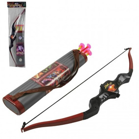 Brinquedo Arco E Flecha Infantil Porta 06 Flechas Crianças