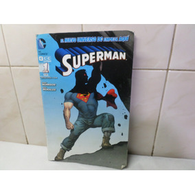 Dc Comics Ecc Sudamerica Superman Nº 1 2012 Detalle