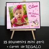 15 Souvenirs Atrilitos + Cartel De Regalo !! 1er Añito Nena