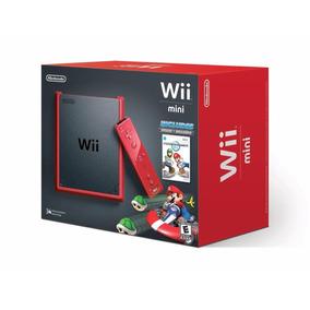 Consola Nintendo Wii Mini Edicion Mario Kart / Nuevo Sellado