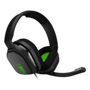 Auriculares Gamer Astro A10 Gray Y Green Xbox One Ps4 Mobile