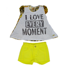 1285 Cj Bl Short Love Every Moment Planet Kids