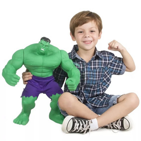 Boneco Incrível Hulk Gigante Mimo 46cm Verde