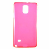 Capa Celular Samsung Galaxy Note 4 Rosa Tpu Frete 10 Reais