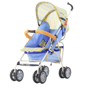 Coche Paraguitas Bebe Bebesit Quartino 1063 Azul Naranja