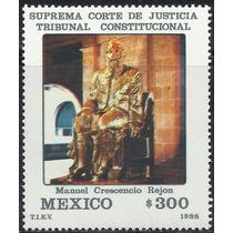 1988 Suprema Corte De Justicia Estatua D Manuel Rejón Mnh