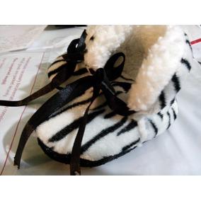 Zapatos Bebe Niña Leopardo Jirafa Zebra 0 A 5 Meses