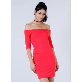 Vestido Ciganinha Feminino Malwee - Vermelho