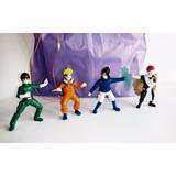 Naruto Colección, 4 Muñecos, Nueva Lista Para Regalar!