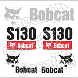 Kit Adesivos Bobcat S130