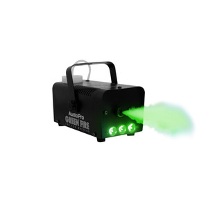 Máquina De Humo Led Verde Green Fire Audiopro Envío Gratis