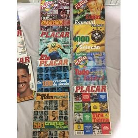 Coleção Revista Placar Flamengo Especial Itens Historicos !