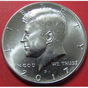 Usa Moneda John F Kennedy 1/2 Dolar 2017 D Unc