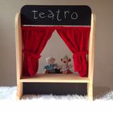 Teatro/escenario De Títeres Para Niños