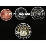 Coleccion De 4 Monedas De Egipto