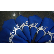 Anel Porta Guardanapo Personalizado Casamentofestas Pintado