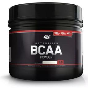 Bcaa Powder On 100 Serv 300lb Unflavored Aminoacidos