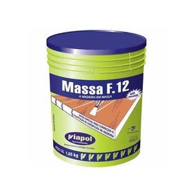 Massa Madeira F12 Viapol 1,65k Nó De Pinus Calafetar Madeira
