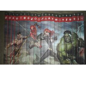 Lote Os Heróis Mais Poderesos Da Marvel - Ed. Salvat*
