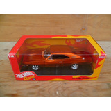 Tm.hot Whells 1/18 Red Line Classic 69 Dodge Charger