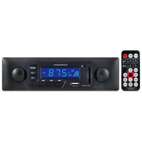 Rádio Automotivo Powerpack Tcsd-2320 Estilo Retro \ Usb \sd