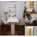 Mesa Desayunador-escritorio-comedor-plancha Plegable A Pared