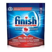 Finish Sabão Para Máquina De Lavar Louças  13 Tabletes