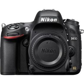 Câmera Profissional Dslr Nikon D610 Corpo Fullframe