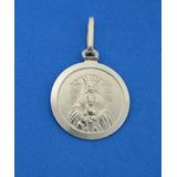 Medalla Virgen De Coromoto Plata Ley 925 De 14mm Smvco14