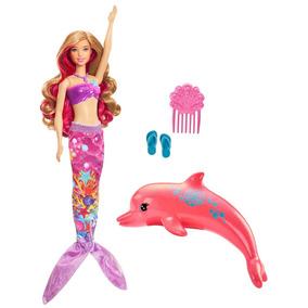 Boneca Barbie Filme Barbie E Os Golfinhos Mágicos - Sereia T