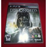 Dishonored - Ps3 Perfecto Estado
