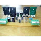 Modulo Etapa Amplificadora 200w Rms Mono 500w Pico Transisto