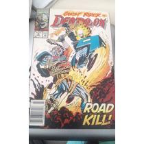 Comic Marvel En Ingles Deathlok Vs Ghost Rider Nos. 10 Y 9