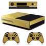 Skin Xbox One Oro Brushed Inc. Kinect ¡envío Gratis Dhl!