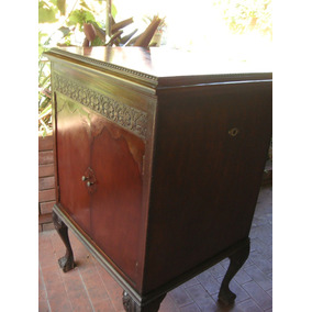 Antiguo Mueble Vitrola Para Decoracion - Wilde