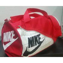 Bolsa Nike Duffle Grande Mala Viagem Academia Vermelha
