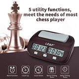 Inkint Professional Digital Ajedrez Reloj Cronómetro Con...