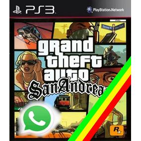 Gta San Andreas Ps3 Psn Codigo !!promoção!! Via Email Whats