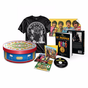 Kit Gift Box The Beatles Sgt Peppers 50 Anos Oficial