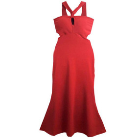 Vestido Vermelho Longo Feminino Roupas Femininas