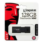 Memoria Usb 128gb Kingston Dt100 Usb Retractil